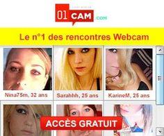 01 Cam : rencontres par tchat webcam