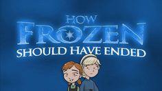Como Frozen Deveria Ter Terminado (Legendado PT-BR)