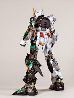 Gundam Family: MG 1/100 RX-93 Nu Gundam Ver.Ka Custom Build