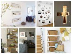 29 ευάερες και λειτουργικής διακόσμησης μοντέρνες θέσεις για ράφια | Τεχνοτροπίες Και Διακόσμηση Diy Design, Shelving, Wall Decorations, Furniture, Home Decor, Shelves, Decoration Home, Room Decor, Shelf