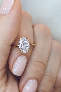 Rose Gold Engagement Rings for women carat t. diamond ring Gift Box Authenticity cards Riviera Shank (G, SI) (Ring Size – Fine Jewelry & Collectibles Dream Engagement Rings, Classic Engagement Rings, Engagement Jewelry, Simple Engagement Rings Oval, Oval Solitaire Engagement Ring, Solitaire Engagement Rings, Engagement Nails, Traditional Engagement Rings, Engagement Ring Styles