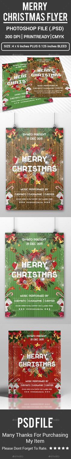 Christmas Story Church Flyer Poster Template Flyer template - benefit flyer template
