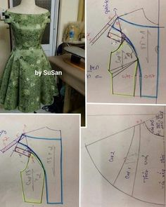 Diy Ropa Mujer Fashion Ideas Ideas For 2019 Sewing Art Sewing Tools Sewing Tutorials Sewing Hacks Sewing Patterns Sewing Projects Sewing Techniques Techniques Couture Learn To Sew Dress pattern cut out Great swing dress DIY - would add a curve to the bodi Dress Sewing Patterns, Blouse Patterns, Sewing Patterns Free, Clothing Patterns, Dress Tutorials, Sewing Tutorials, Barbie Mode, Bodice Pattern, Pattern Drafting