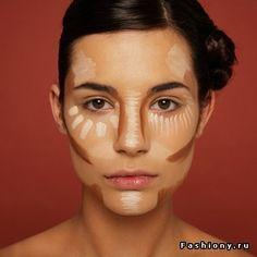 Скульптурирование лица / скульптурирование лица фото