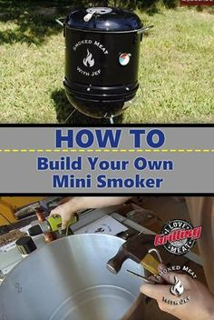 Homemade Smoker: How To Build Your Own Mini Smoker