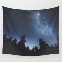 Wall Tapestries featuring Starchild by HappyMelvin