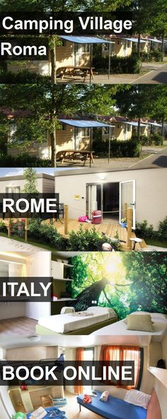 Hotel Camping Village Roma in Rome, Italy. For more information, photos, reviews and best prices please follow the link. #Italy #Rome #CampingVillageRoma #hotel #travel #vacation