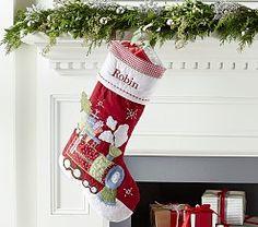 Christmas Stockings & Xmas Stockings | Pottery Barn Kids