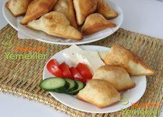 hamur kızartma tarifi Potatoes, Cheese, Chicken, Vegetables, Ethnic Recipes, Food, Diy, Crafts, Manualidades