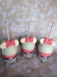 Chocolate covered Character candy apples. by KLDesserts on Etsy