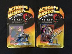 Batman The Animated Series Die Cast Metal Figures - Lot of 2  #Kenner