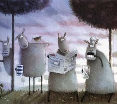 Иллюстрации Rob Scotton. Обсуждение на LiveInternet - Российский Сервис…