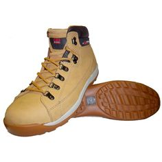 Hiker Safety Boot - great for work & hiking Hiking Gear, Hiking Boots, Workwear, Tan Leather, Safety, Heels, Men, Clothes, Fashion