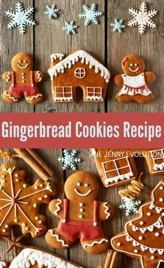 Gingerbread Cookies Recipe + Decorating Ideas! | The Jenny Evolution