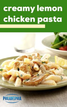 Cream Cheese Recipes Dinner, Cream Cheese Pasta, Cream Cheese Chicken, Easy Dinner Recipes, Dinner Ideas, Pulled Chicken Recipes, Fried Chicken Recipes, Meat Recipes, Pasta Recipes
