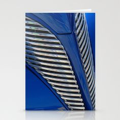 Blue and Chrome Stationery Cards by Colleen G. Drew - $12.00