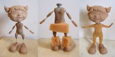 clay puppet tutorial