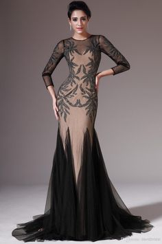 2014 Gorgeous Crystal Bead Sheer Crew 3/4 Long Sleeve Mermaid Sexy Mother Of The Bride Dresses Sexy Evening Prom Dress Gowns Tulle Mother Of The Bride Dress Patterns Mother Of The Bride Dresses Calgary From Davidbridal, $82.91| Dhgate.Com