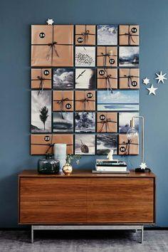 Un calendrier de l'avent artistique, fait pour durer - Des reproductions de tableaux à déballer chaque jour de l'avent