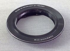 ROLLEI M42 AUTOMATICADAPTER FOR LENS FOR CAMERA MADE IN GERMANY