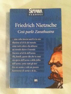 BookWorm & BarFly: Così parlò Zarathustra - Friedrich Nietzsche (1883...
