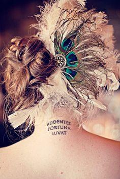 """Audentes Fortuna Iuvat (""""Fortune favors the brave"""")"""