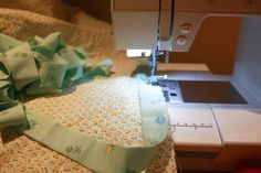 The ultimate finish to any quilt—binding! These are the last few days of the year and I'm celebrating the past year by finishing a quilt I'm making for charity. I'm part of a group that makes over 200 quilts a year that are donated to different. Quilting Tips, Machine Quilting, Prairie Points, Quilt Binding, Extra Fabric, Coordinating Fabrics, Quilt Top, How To Apply, How To Make