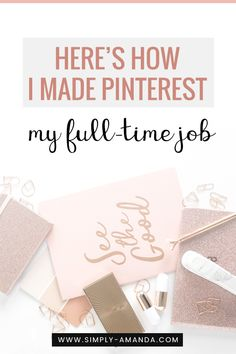 Here's exactly how I get paid to pin and made Pinterest my full-time business! #pinterest #blogging #business | simply-amanda.com