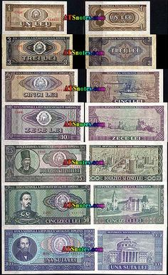 Romania banknotes - Romania paper money catalog and Romanian currency history Money Worksheets, My Memory, Romania, Catalog, Nostalgia, Old Things, Memories, Paper, Happy
