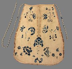 Place of Origin: United States, North America Date: 1725-1775 Materials: Wool; Linen Museum Object Number: 1969.0691