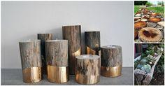 17 Log DIYs To Get Twiggy With | Diply