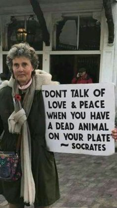 Peace begins on your plate.