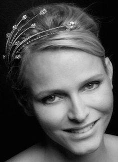 Tiara Mania: Princess Charlene of Monaco's Diamond Foam Tiara
