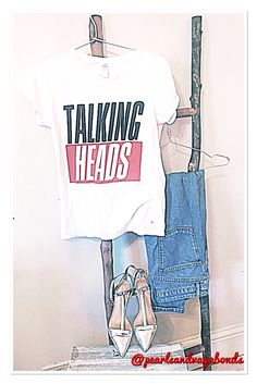 #outfitoftheday #talkingheads #bandtee @topshop #momjeans and @zara #silver #killerheels ! #flog #styleblogger #fashionista #fblogger #fashion #casual #chic #indie #cool #chilled #style #oot #ootd #todaysattire #topshop #zara #pearlsandvagabonds