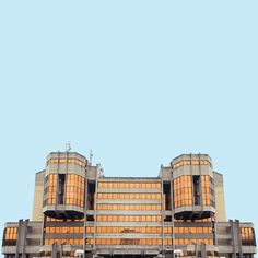 The grandiose buildings of mid-century Belgrade are perfectly preserved mementos from the times of Socialist Modernism; Serbian photographer Mirko Nahmijas put the strict symmetry and harsh lines at the forefront of his series Minimal Belg