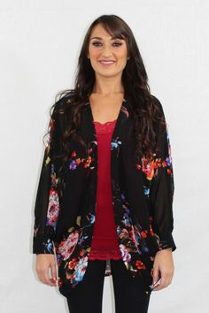 Forever Young Floral Sheer Cardigan – The Laguna Room