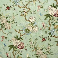 GP & J BAKER Cherish Toronto: Chinoiserie Fabric