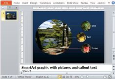 Free Powerpoint Smartart Picture Diagram Template