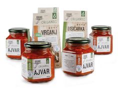 Birano Organic. Packaging designed by Coba.