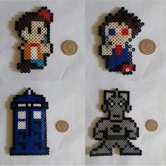 Doctor Who Perler Beads by BeadsNWreaths