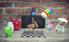 50 Adorable Photographs of Danbo Cardboard Robot