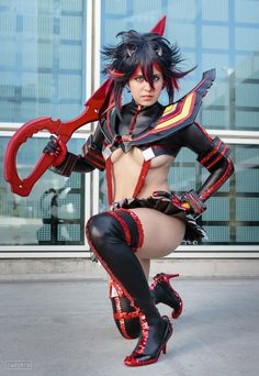 Ryuko Matoi Cosplay: A Once in a Lifetime Chance by Khainsaw.deviantart.com on @DeviantArt