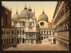 """"""" In the courtyard of the Doges' Palace, Venice  """""""