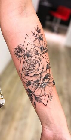 Fantastic cute tattoos are readily available on our internet site. Check it out and you will not be sorry you did. Forarm Tattoos, Rose Tattoos, Body Art Tattoos, Small Tattoos, Sleeve Tattoos, Tatoos, Flower Tattoos, Ribbon Tattoos, Tiny Tattoo