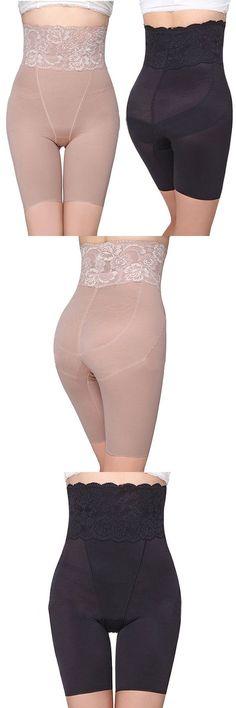High Waisted Body Shaper Tummy Hip-lifting Panties #fashion #style #UnderwearModel