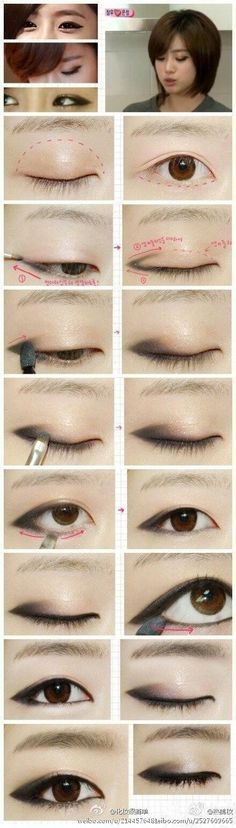 If you'd like to enhance your eyes and increase your natural beauty, having the best eye make-up tips and hints will help. You'll want to make certain you wear make-up that makes you look even more beautiful than you are already. Make Up Looks, Hd Make Up, Asian Make Up, Korean Make Up, Beauty Make-up, Beauty Hacks, Asian Beauty, Korean Beauty, Natural Beauty
