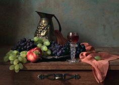 photo  ~ С виноградом и персиком | by Елена Татульян | photographed in