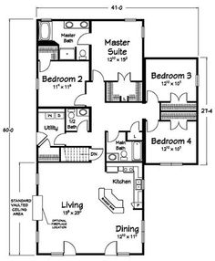 3 bedroom, coastal, cape cod style floor plans | modular home