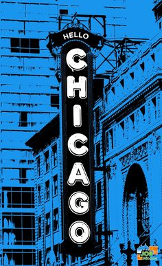 Chicago Theatre Window Graphics, Big Ben, Theatre, Chicago, Windows, Building, Theatres, Buildings, Window Stickers