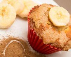 Muffins allégés au chocolat blanc et à la banane